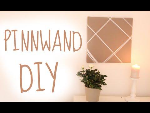 DIY Pinnwand | schick und dekorativ :)