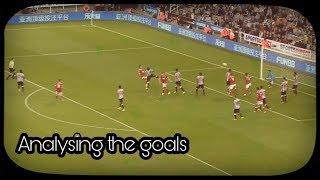 Analysing the goals | Newcastle United 2-3 Nottingham Forest