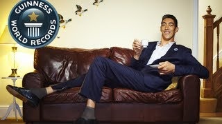 Tallest Man in the World: Sultan Kösen - Guinness World Records