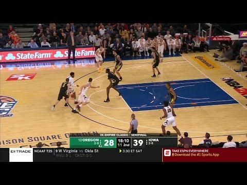 Extended Highlights: Iowa vs. Oregon | Big Ten Basketball