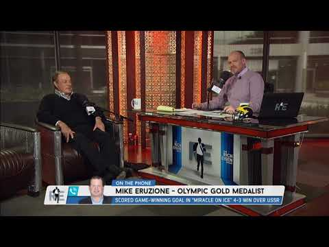 Mike Eruzione of 1980's Olympic Hockey & Al Michaels on The Miracle on Ice Game - 2/27/18
