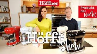 Die Höffi Show // smeg Espresso-Maschine