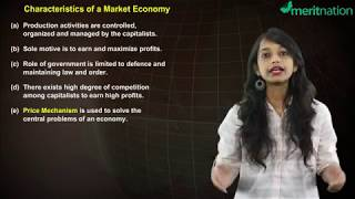 Economics fo Class 12: Market Capitalist Economy - Features and Solutions