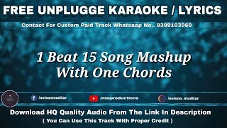 1 beat mashup 90s bollywood songs karaoke - TH-Clip