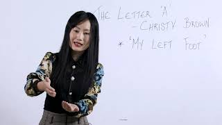 Class 11 Alt.English 14 Sept 2020 Topic : The Letter 'A' by Christy Brown