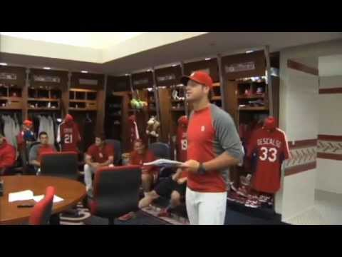 Mike Matheny on Cards' All-Stars