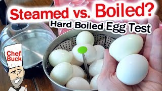 Steamed Eggs Vs Boiled Eggs ...which Is Better?
