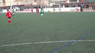 preview picture of video '20141227 Torneig de nadal Ciutat de Balaguer - Gol del benjamí A'