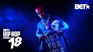Vic Mensa, G Herbo, Taylor Benett And Nick Grant Drop Heat | Hip Hop Awards 2018 Cypher