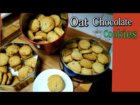 Video Resep Oat cookies