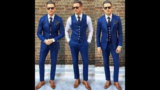 Wedding Wear Suits For Groom 2020/ Mens 3 Piece Slim Fit Suit Designs 2020