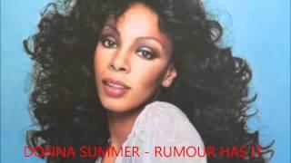 Donna Summer - Rumour Has it. JRX 2015 Original Extended 11min19sec