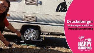 Vorstellung und Test Drückeberger - Wohnwagen ausrichten | Happy Camping