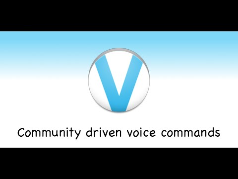 Video of myVoice - Voice commands