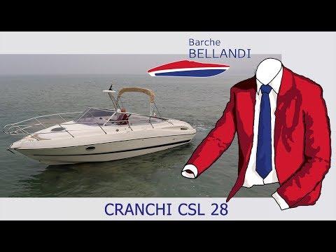 CRANCHI CSL 28 [test in acqua]