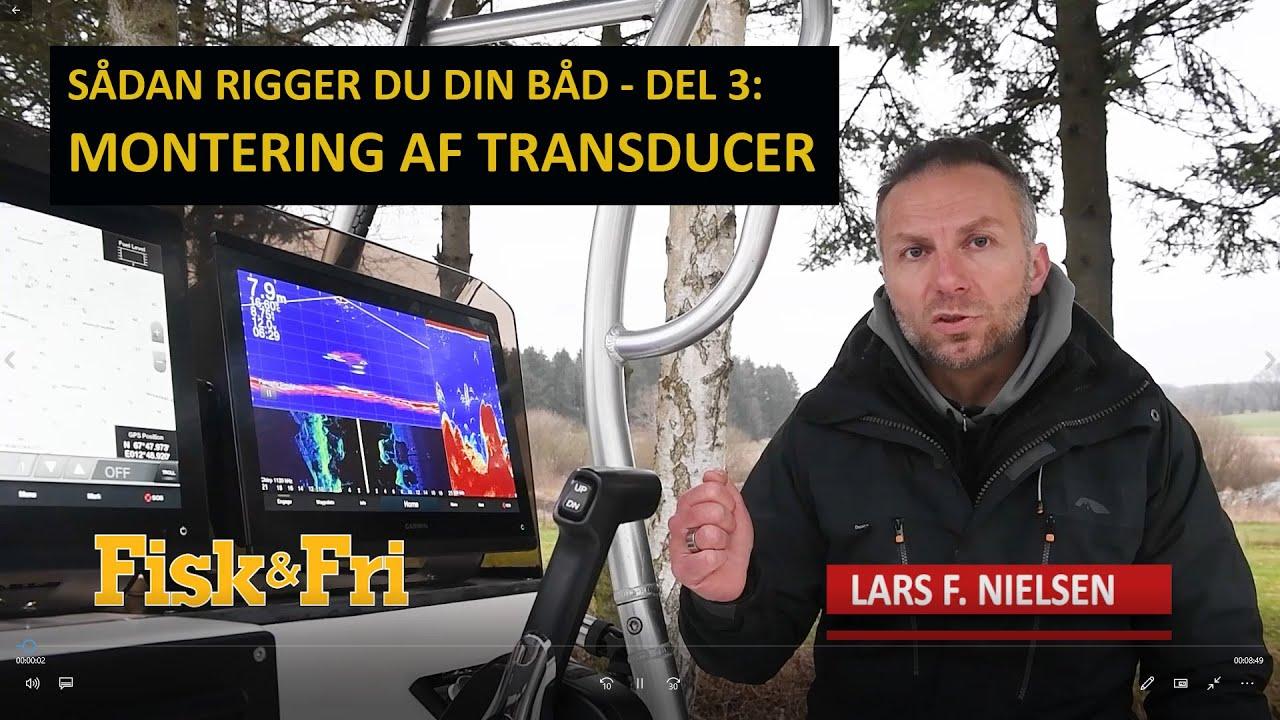 NY VIDEO: SÅDAN MONTERER DU DIN TRANSDUCER