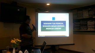 Survei Median Jokowi Ungguli Prabowo di Pemilih Usia Tua