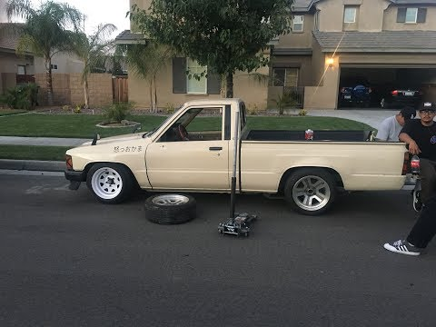 The mini truck gets new wheels!