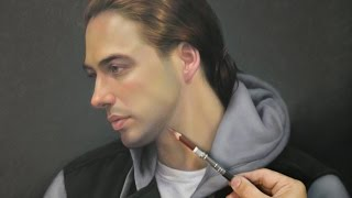 "Timelapse ""Portrait of Sean"" - Pastel, 2015"