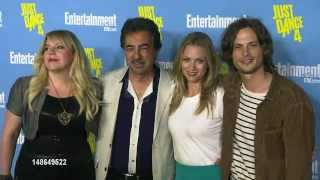 EW Comic Con Party 2012 - Joe Mantegna, A.J. Cook, Kirsten Vangsness et Matthew Gray Gubler
