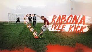 ЗАБИЛ РАБОНОЙ СО ШТРАФНОГО / RABONA FREE KICK CHALLENGE