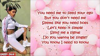 Toni Romiti   Need Me (Lyrics)