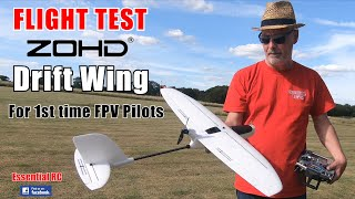 ZOHD Drift FPV *CLIMB and GLIDE* RC aeroplane in KIT/PNP/FPV Versions: ESSENTIAL RC FLIGHT TEST