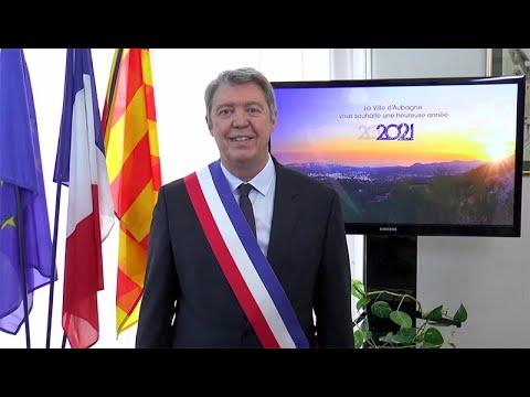 Discours des vœux 2021 de Gérard Gazay, Maire d'Aubagne