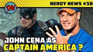 Gambar cover Avengers 4 Trailer Breaks Record, John Cena Captain America,  Aquaman Box Released | Nerdy News #38