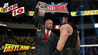WWE 2K17 - Fastlane 2016 Top 10 Moments!