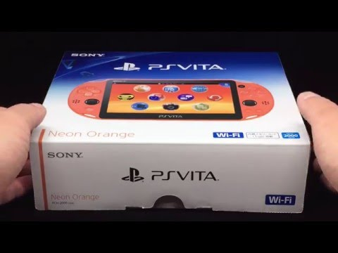 PSVita Neon Orange Wi-Fi PCH-2000 (ZA24)