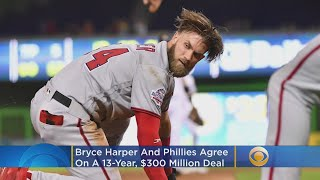Bryce Harper Agrees To 13 Year Contract With Phillies
