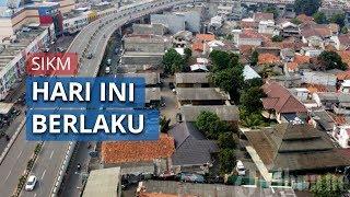 Mulai Hari ini Keluar Masuk DKI Jakarta Wajib Tunjukkan Surat Izin SIKM, Ini 12 Titik Pengecekannya