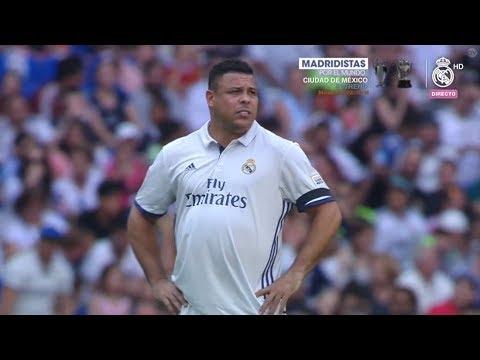 Ronaldo Fenomeno vs Roma Legends HD Home (11/06/2017)