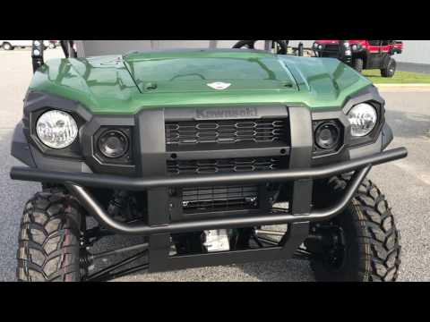 2018 Kawasaki Mule PRO-FX EPS in Greenville, North Carolina - Video 1