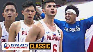 GILAS CLASSIC: Gilas Pilipinas vs Indonesia / GINTONG MEDALYA PARA SA PILIPINAS
