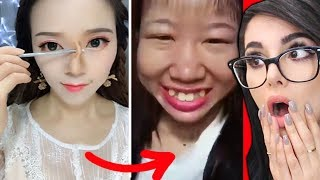 Best VIRAL Asian Makeup Transformations + Tutorials Compilation 2