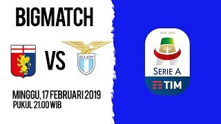 Live Streaming dan Jadwal Pertandingan Genoa Vs Lazio di HP via MAXStream beIN Sport