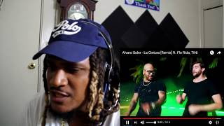 Alvaro Soler   La Cintura [Remix] Ft. Flo Rida, TINI *English* REACTION