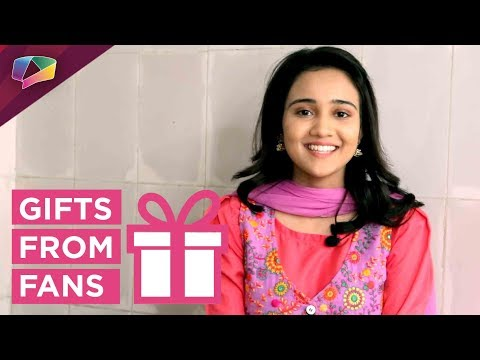 Ashi Singh Aka Naina Receives Gifts From Her Fans