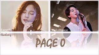 Taeyeon & MeloMance – Page 0 [Türkçe Altyazılı]