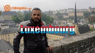 Ep 61 - Luxembourg - Around Europe on a Motorcycle
