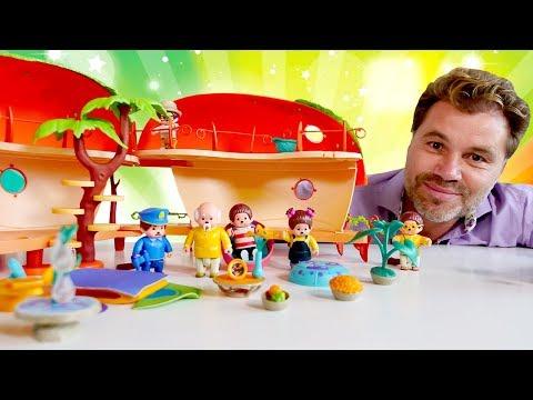Мультики для малышей: обезьянки Monchhichi. Шоу для детей: Play Рой! В гостях у Мончичи