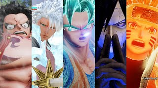 【JUMP FORCE】 All 50 Characters Ultimate Attacks ( + DLC Madara Uchiha & Toshiro Hitsugaya)