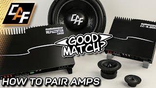 Pair Amplifiers CORRECTLY   Power Balancing Car Audio