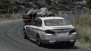 BMW M5 F10 at Mountain Roads