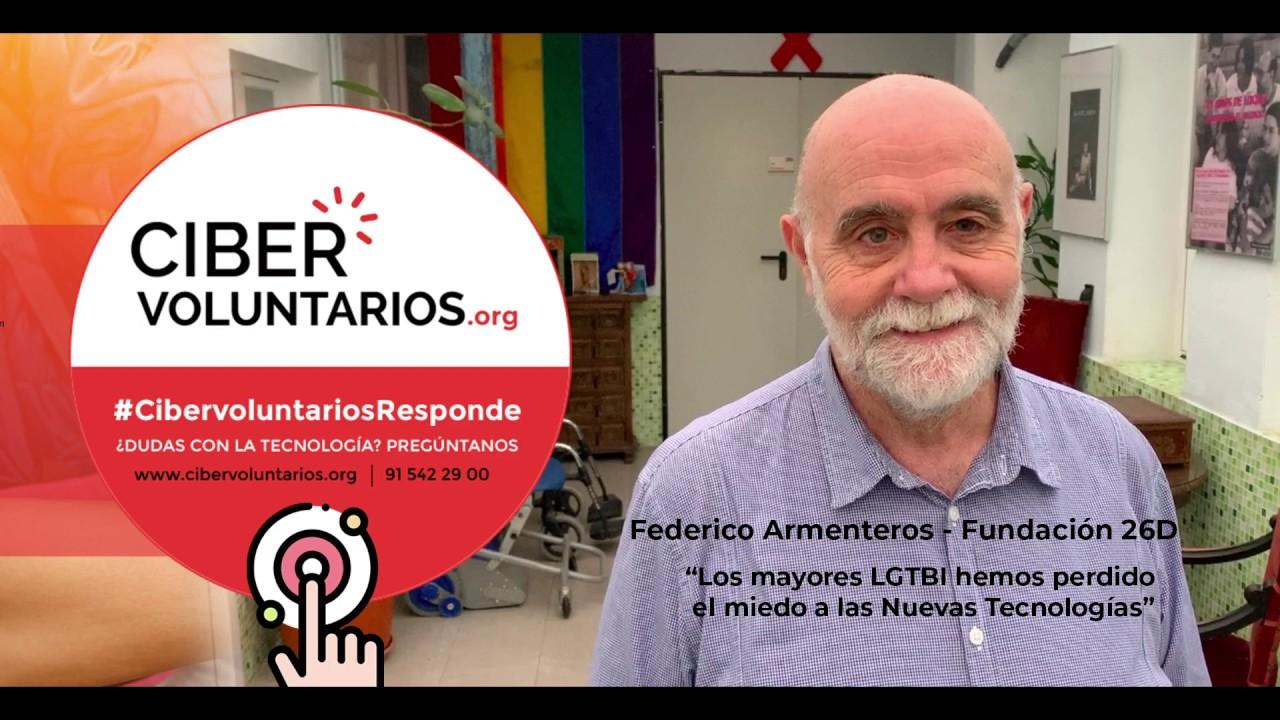 Federico Armenteros se convierte en nuevo embajador de Cibervoluntarios Responde
