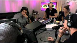 ≡≡≡Hollywood Undead≡≡≡, Hollywood Undead on Loveline [Part 1] (September 17th, 2012)