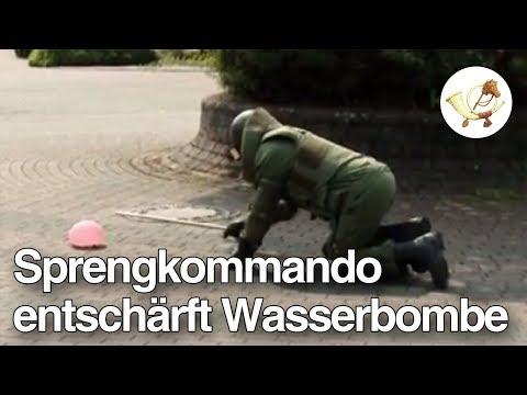 Blindgänger: Sprengkommando entschärft Wasserbombe [Postillon24]