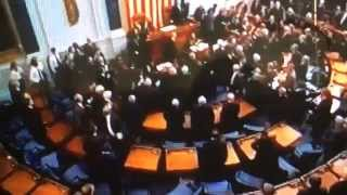 President Collapses in State of the Union Panic!